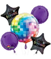 Disco Mylar Balloon